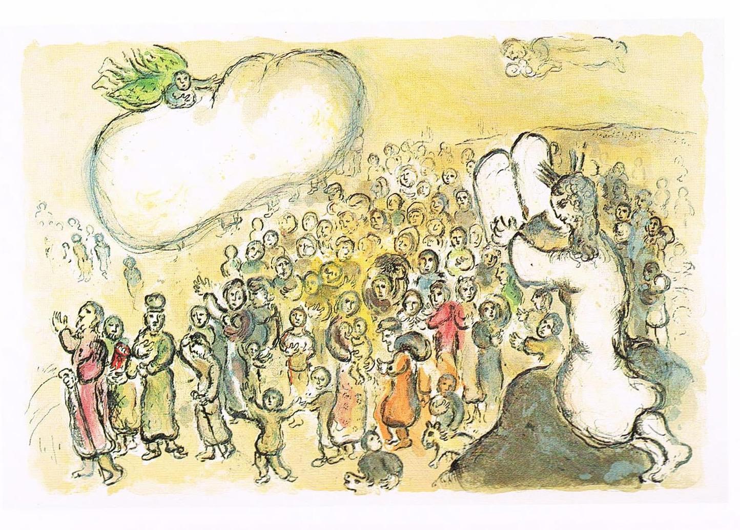 Marc Chagall, Esodo
