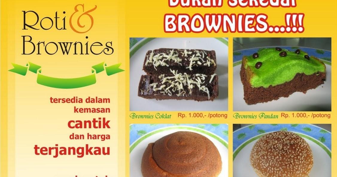 Brosur Roti Dan Brownies Firda Bakery