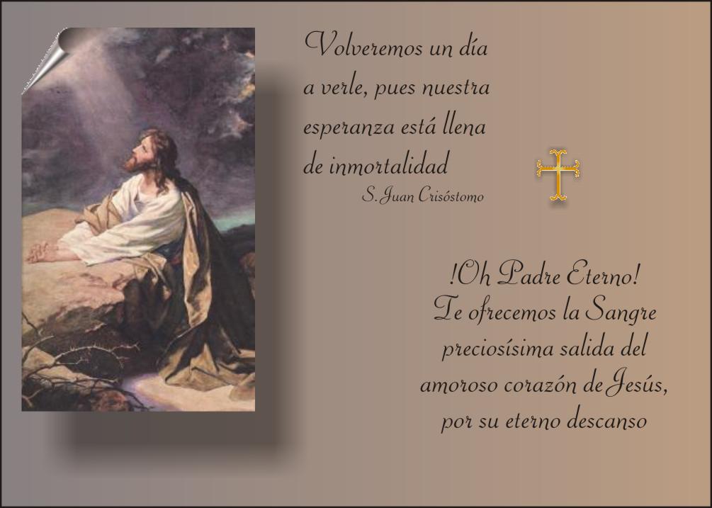 Tarjetas Y Oraciones Catolicas Pésame