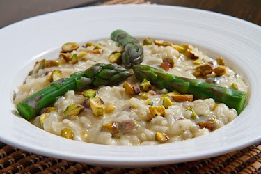 Pistachio and Gorgonzola Risotto