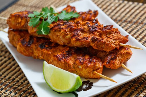 Grilled Tandoori Chicken