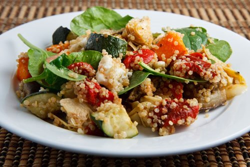 Roasted Vegetable Quinoa Salad