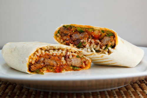 Korean Short Rib Burrito