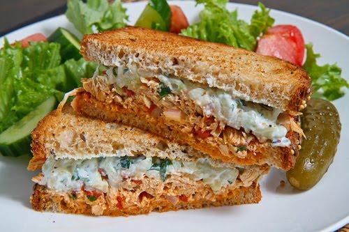 recipe: chicken souvlaki sandwich [13]