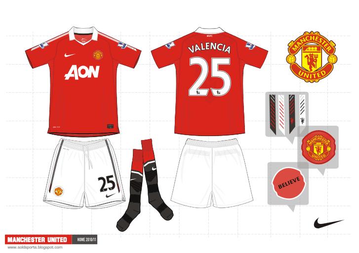Sold Sports Design  Manchester United kits 2010 11 e5a0c9bd0c035