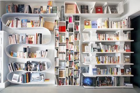 Whole Wall Bookshelves