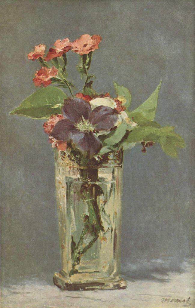 The Linosaurus: Eduard Manet, Last Flowers |Manet Flowers