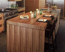 Carved Wood Kitchens