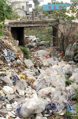 Para onde vão os sacos Plásticos?