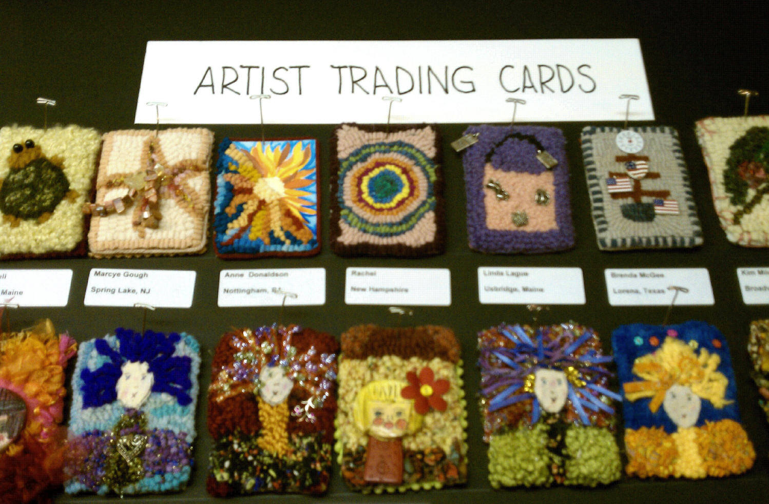 I Always Enjoy Going To The Fall Hooked Rug Show In Bothel Washington It Is A Small Venue With Lots Of Creative S Who Their Supplies And
