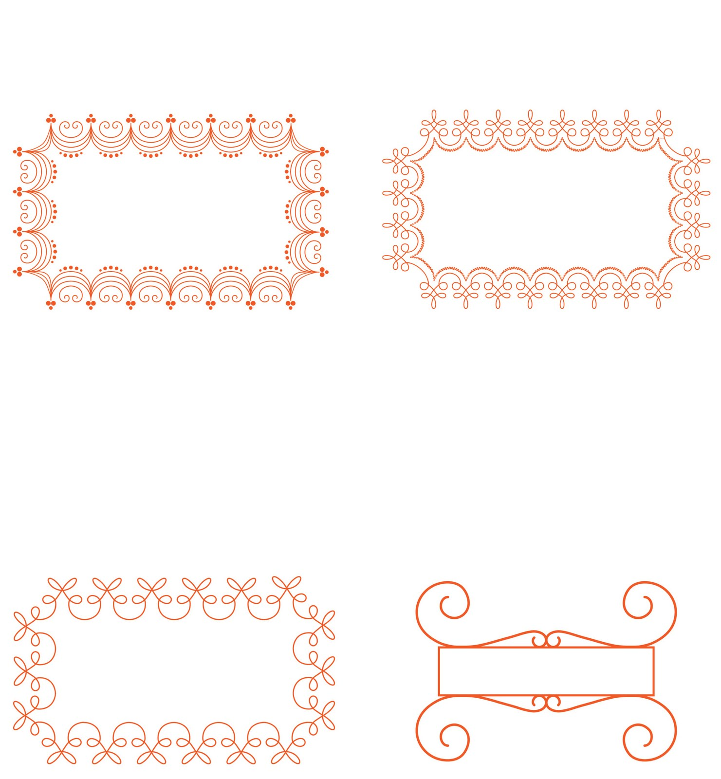 homebodies: Placecard Templates
