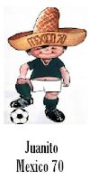 Mascota Mexico 70