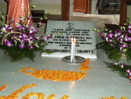 Tumba Madre Teresa de Calcuta