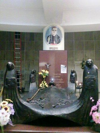 Tumba Monseñor Romero