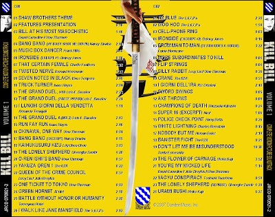 LE BLOG DE CHIEF DUNDEE: KILL BILL Volume 1 - Complete ...