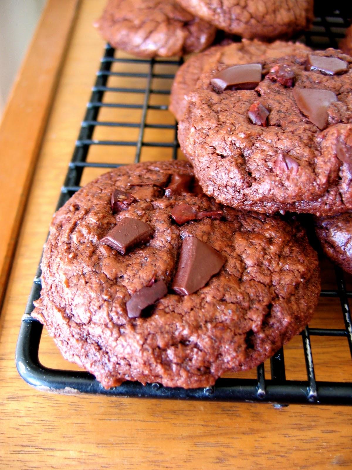 Triple Chocolate Chile Cookies