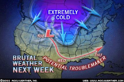 An Unforgiving Period of Winter Settling into the Lower 48