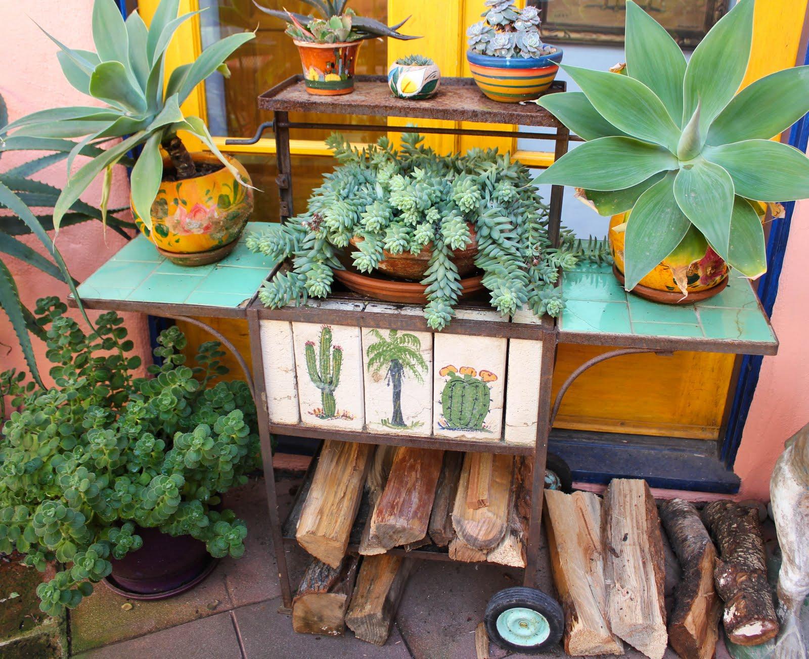 Mexican Gardens on Pinterest | Mexican Garden, San Miguel ... on Mexican Backyard Decor id=67383