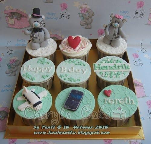 Kue Ulang Tahun Anak Cupcake Birthday Cake Bear Me To