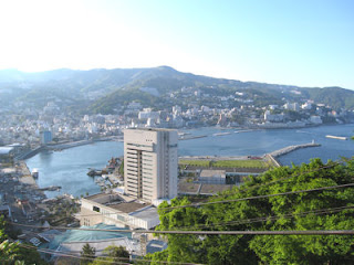View of Atami, Izu Peninsula.