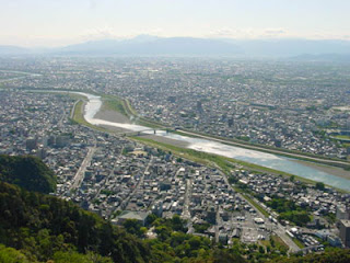 View from Gifu Castle