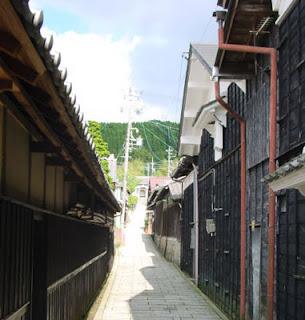 Taisho Alley, Akechi, Gifu Prefecture