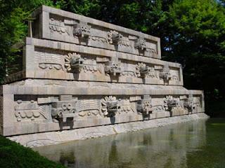 Quetzalcoatl Fountain