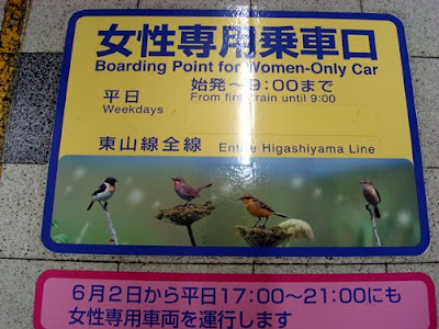 Women Only Subway Carriages