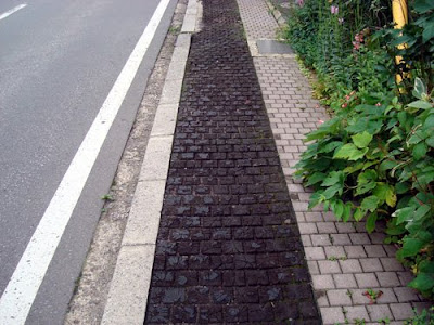 Obuse Sidewalk, Nagano