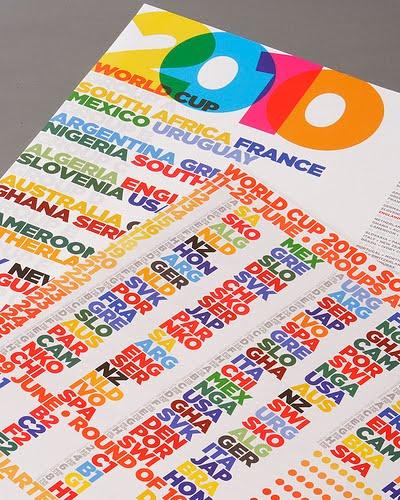 World Cup Calendar Poster