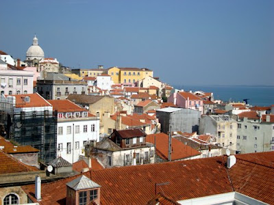 View of Lisbon from Alfama.