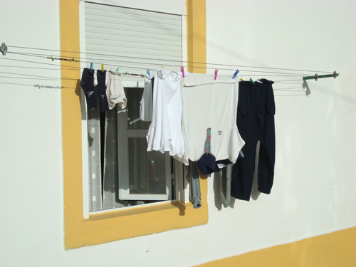 Washing Lines in Portugal