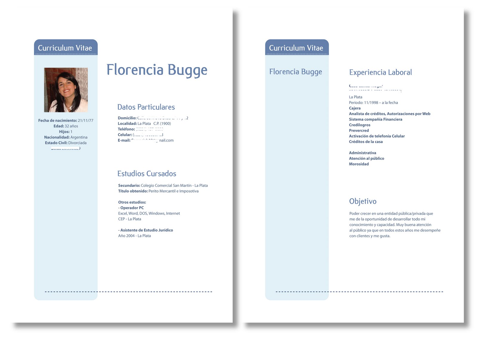 Valeria Buffone Ffont Estudio De Diseno Curriculum Vitae