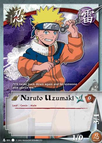 Naruto 8800 Naruto Cards