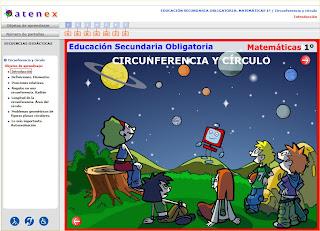 geometria. circunferencia y circulo. eloviparo