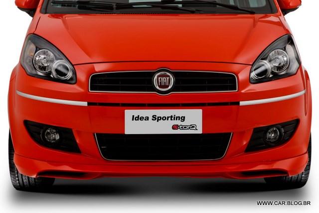 Car Blog Br Fiat Idea 2011 Sporting 1 8 16v Espa O