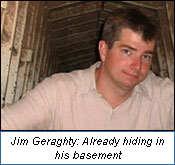 Jim Geraghty: Already hiding in his basement