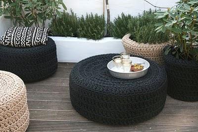 diy transformer le pneu en pouf le blog de mes loisirs. Black Bedroom Furniture Sets. Home Design Ideas