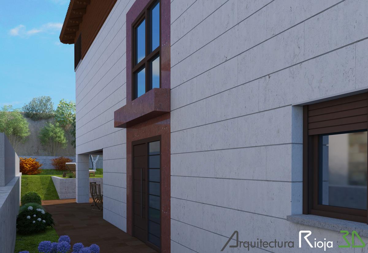 Blog arquitectura rioja3d vivienda unifamiliar aislada for Vivienda unifamiliar arquitectura