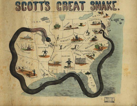How The Anaconda Plan Changed the Civil War