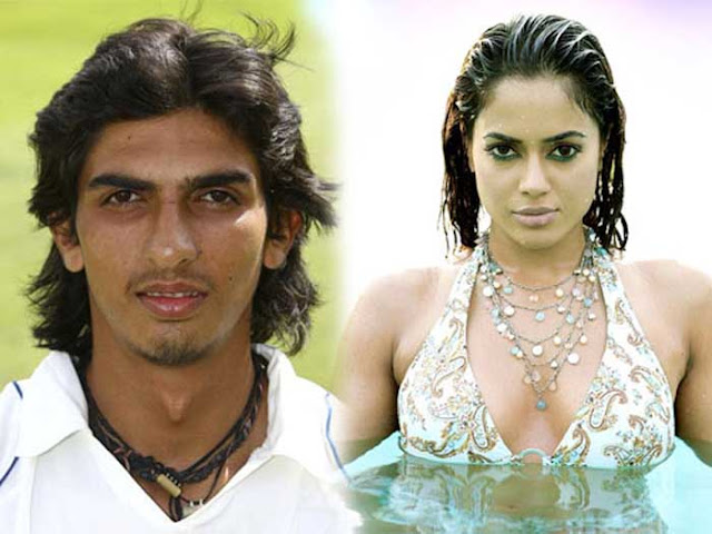 Ishant Sharma and Sameera Reddy