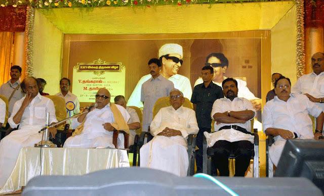 Rajini @ former minister R M Veerappan's Son  wedding reception 4