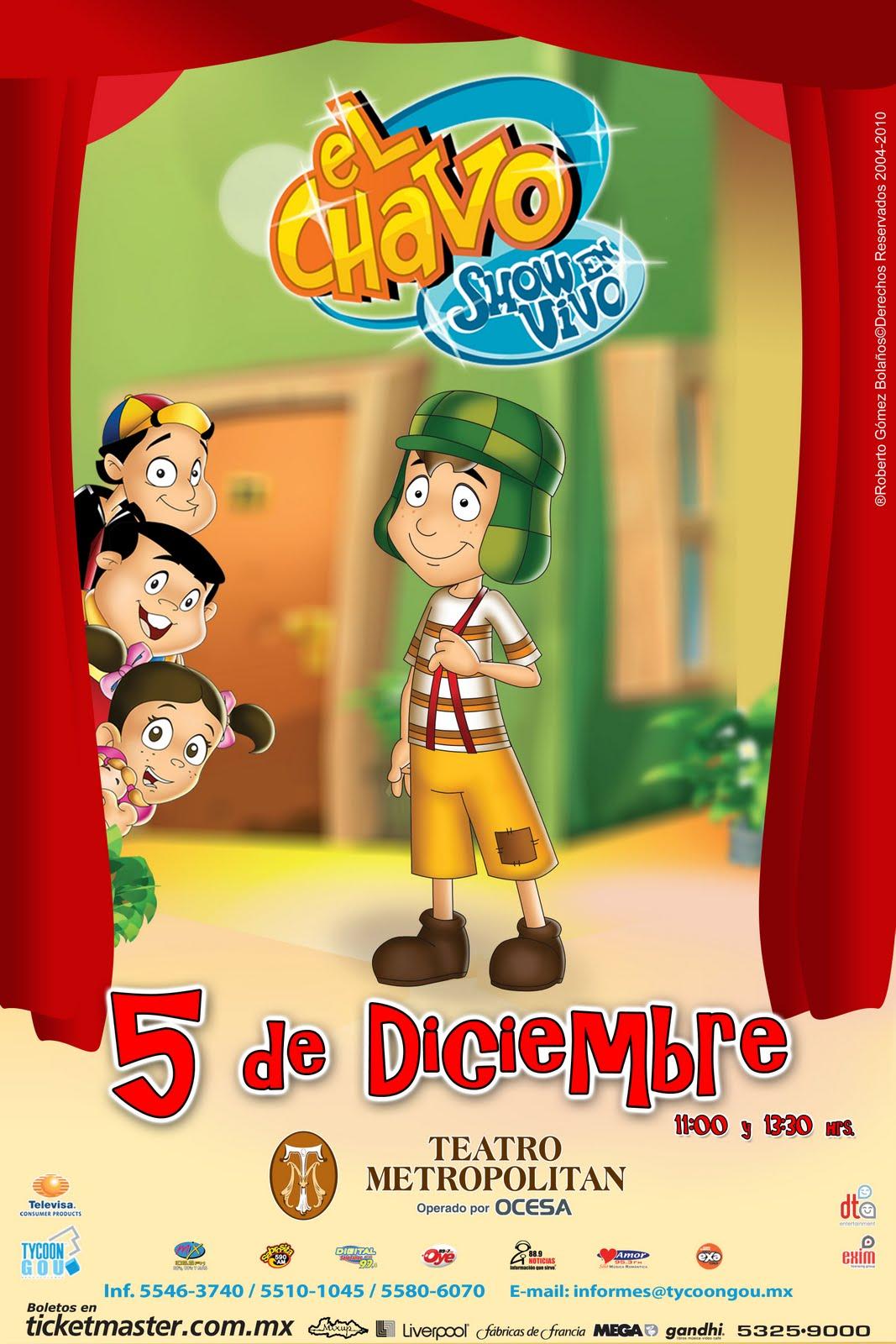 Animado El Vivo En Chavo Show El