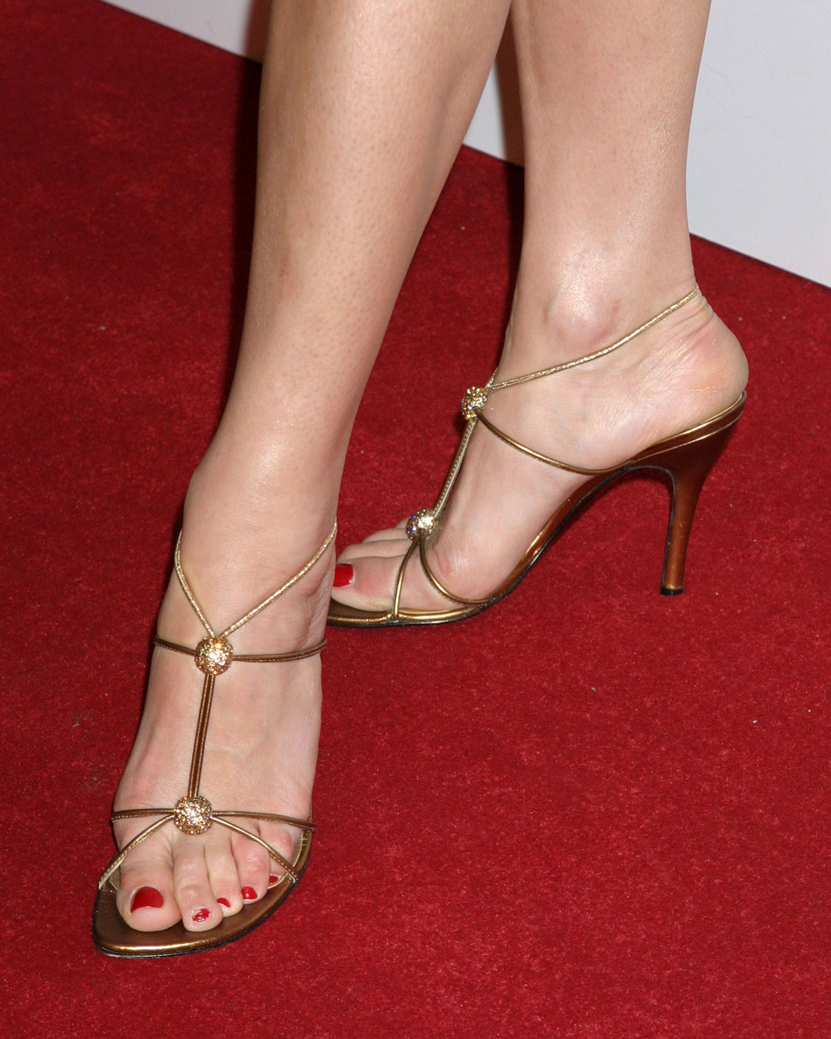 Ashley Scott Shoe Size