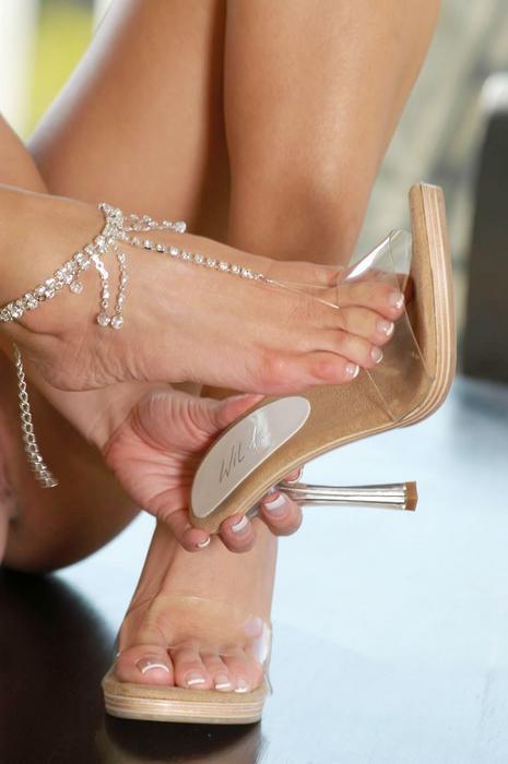 Crissy moran foot