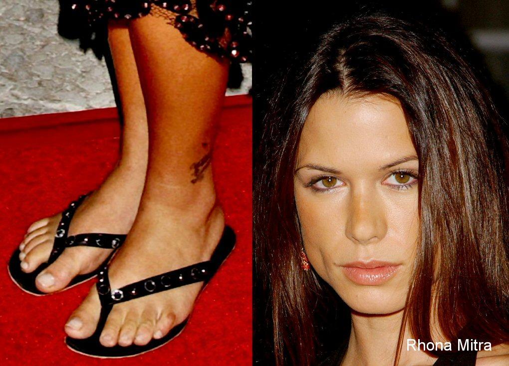 the art of tattoo Rhona Mitra Feet