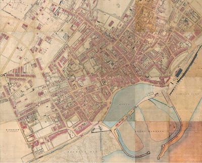 Map Of Ramsgate thanetonline: 1872 and 1849 street map of Ramsgate.