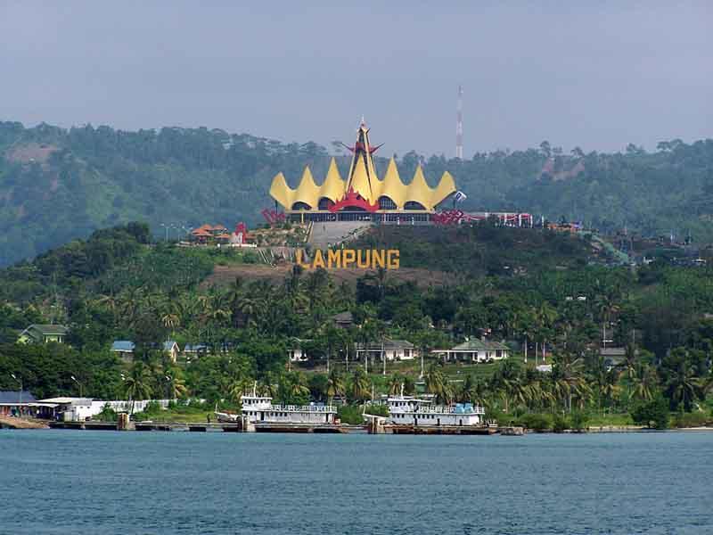 Siger Lampung dari Laut Bakauheni