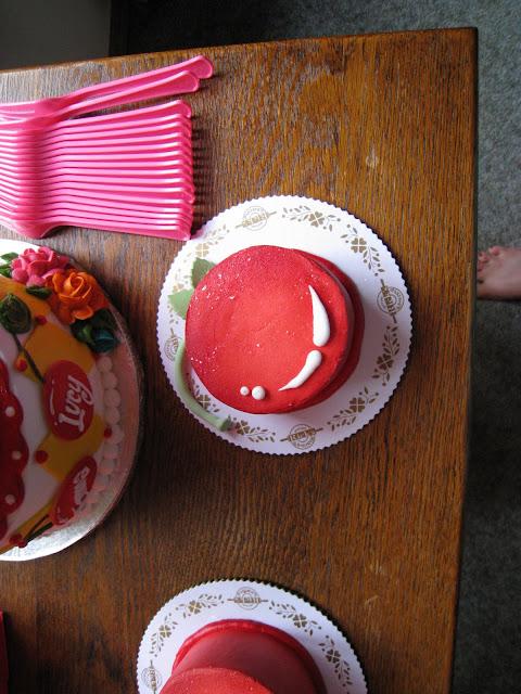 Cherry Red Kids Birthday Party Celebration