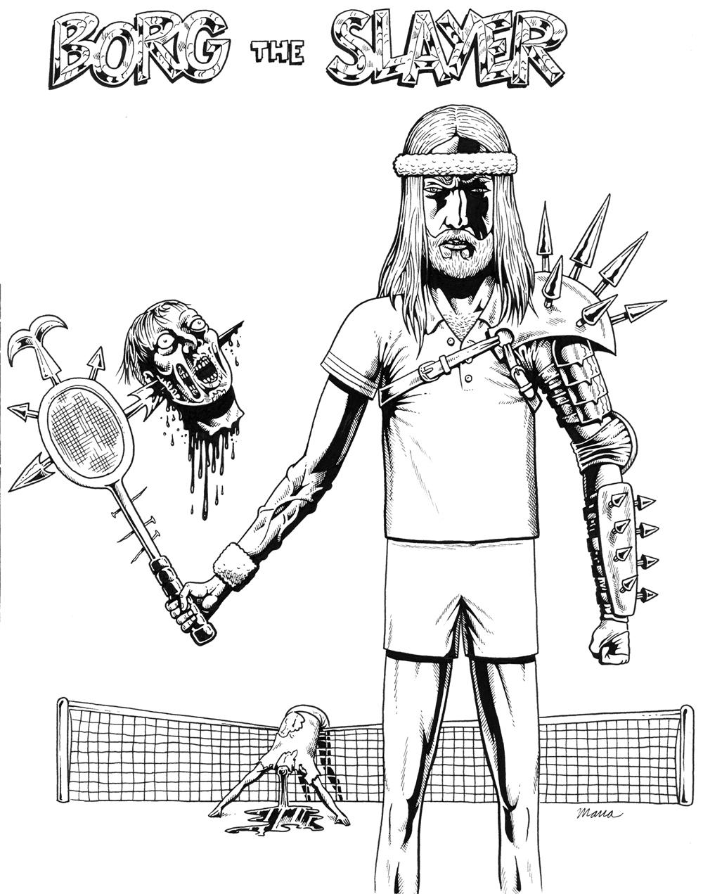 Tennis vs. Apocalypse: June 2010